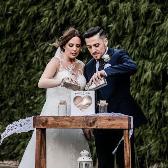 ritual arena boda