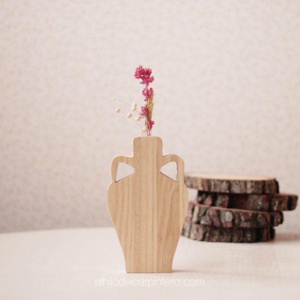 florero vasija