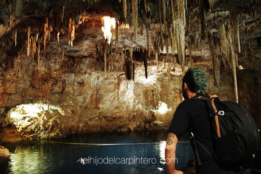 40 años México. Cenote Palomitas