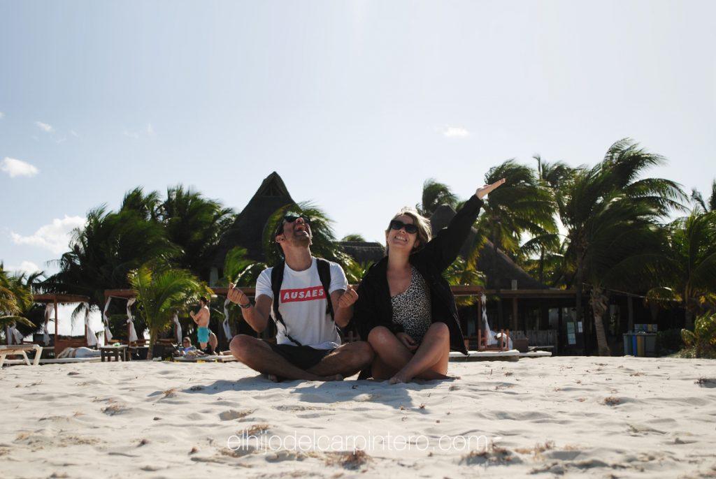 40 años México. Isla Mujeres