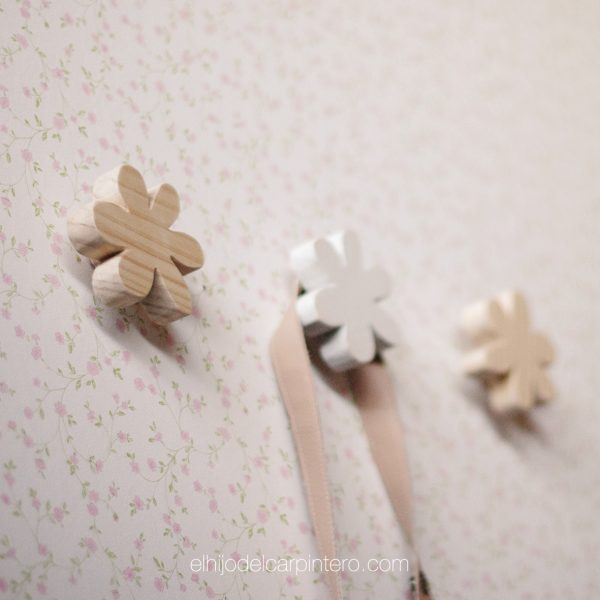 colgador flor