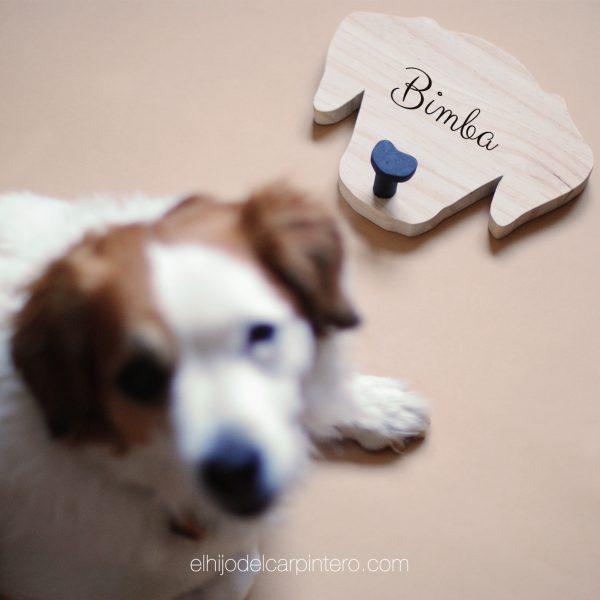 colgador perrito