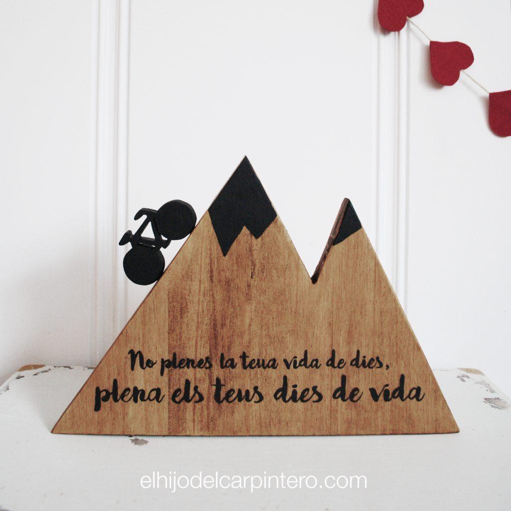 montaña madera